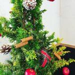 店内もクリスマスの雰囲気に