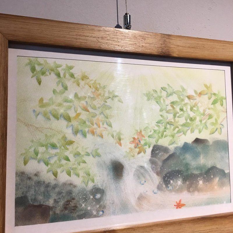 ギャラリーは蒼木ほの香さんの秋の絵たち
